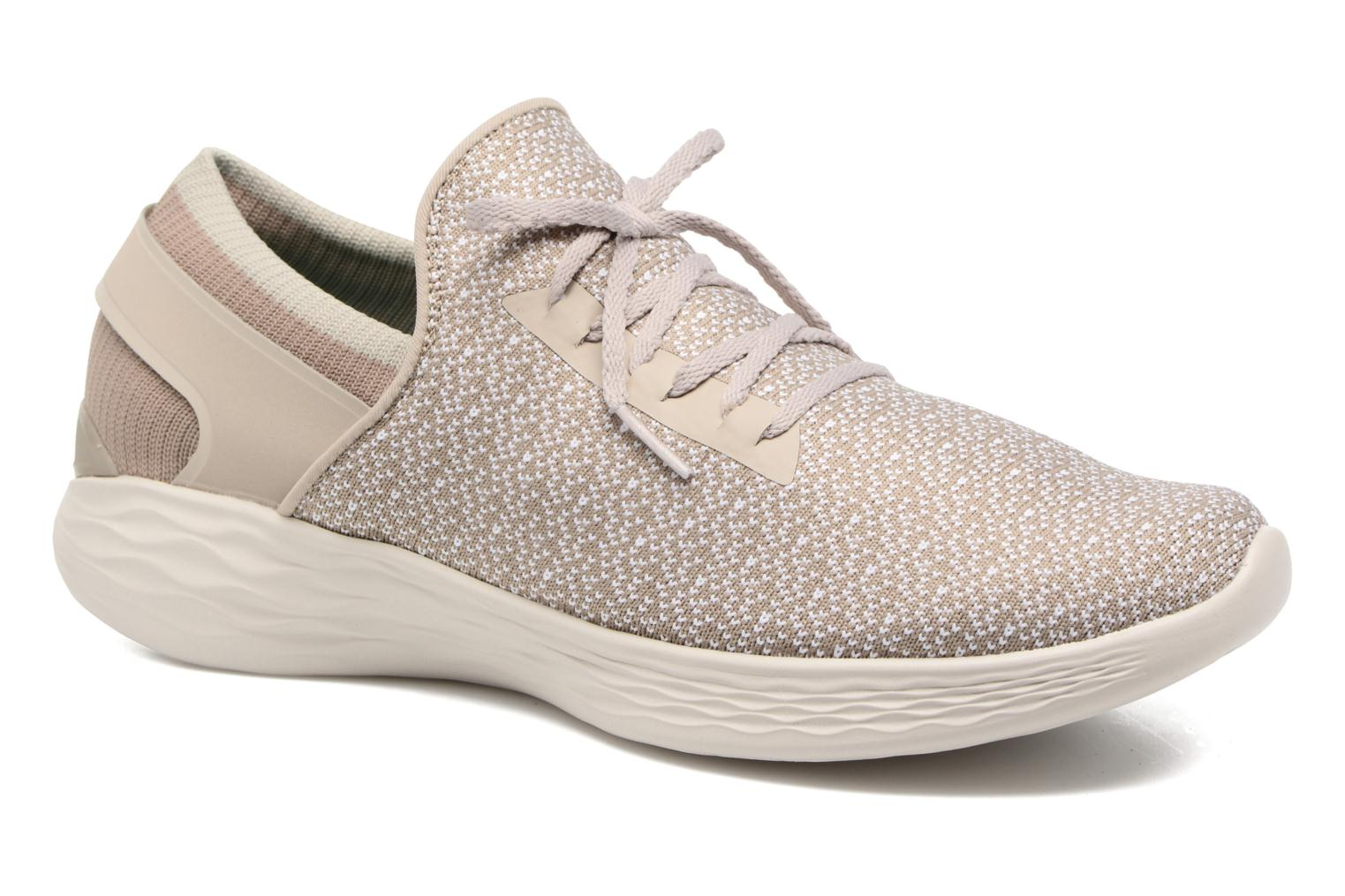 Sport shoes Skechers You Inspire Beige detailed view/ Pair view