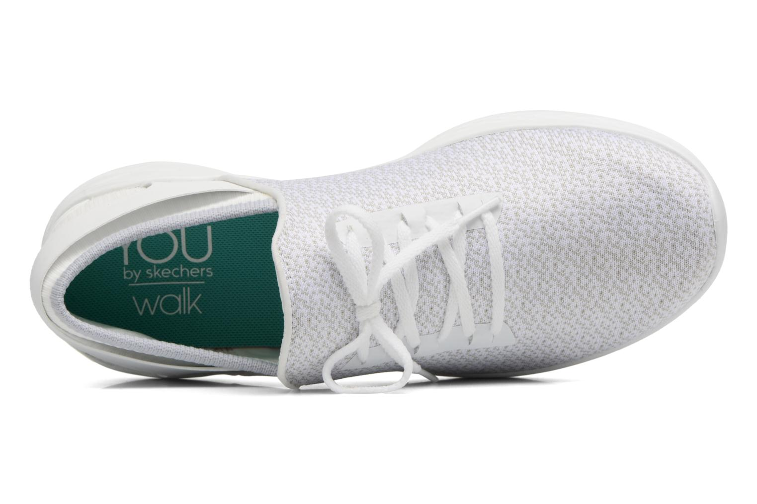Sport shoes Skechers You Inspire White view from the left