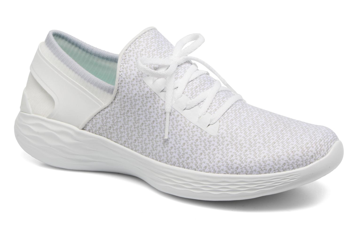 Sport shoes Skechers You Inspire White detailed view/ Pair view