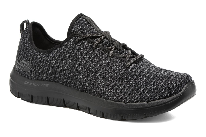 Sport shoes Skechers Flex Advantage 2.0 Cravy Grey detailed view/ Pair view