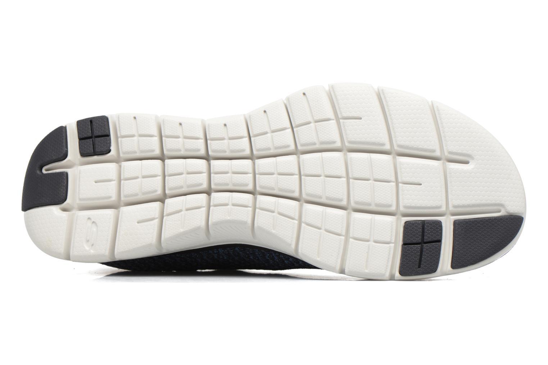 Chaussures de sport Skechers Flex Advantage 2.0 Crazy Bleu vue haut