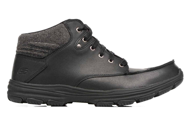 Bottines et boots Skechers Garton Meleno Noir vue derrière