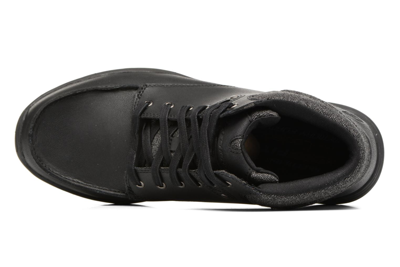 Bottines et boots Skechers Garton Meleno Noir vue gauche