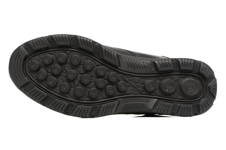 Bottines et boots Skechers Garton Meleno Noir vue haut