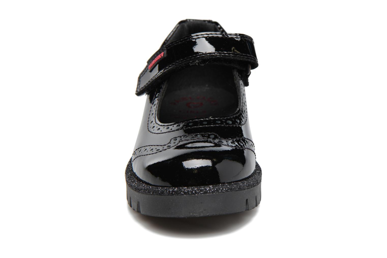 Ballerines Pablosky Victoria Noir vue portées chaussures