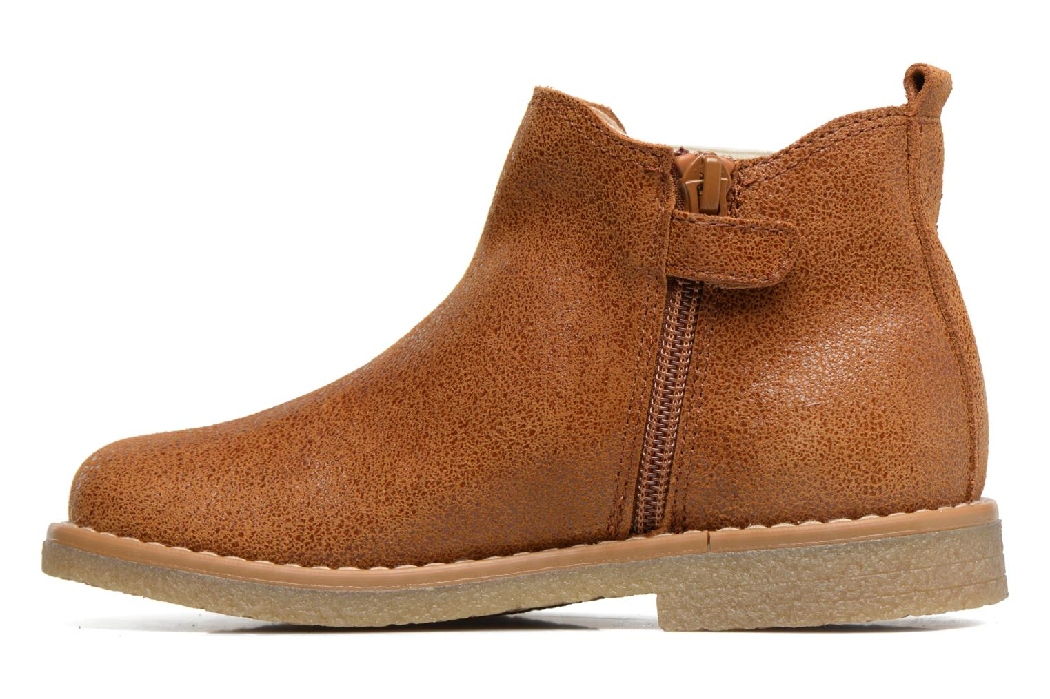 Ankle boots Pablosky Carla Brown front view