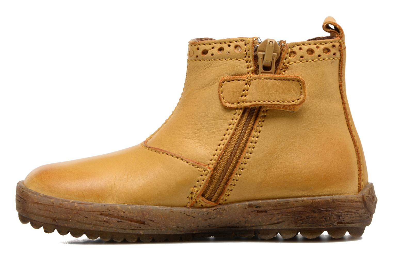 Boots en enkellaarsjes Naturino Storm Geel voorkant