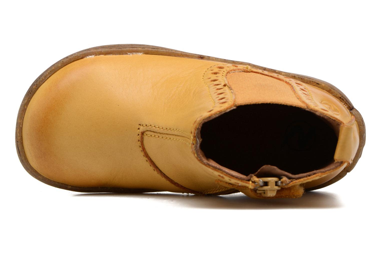 Bottines et boots Naturino Storm Jaune vue gauche