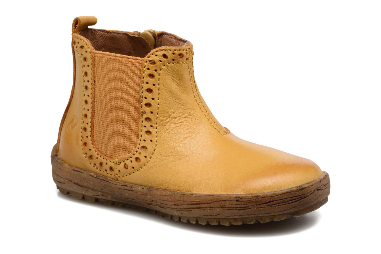 Bottines et boots Naturino Storm Jaune vue détail/paire