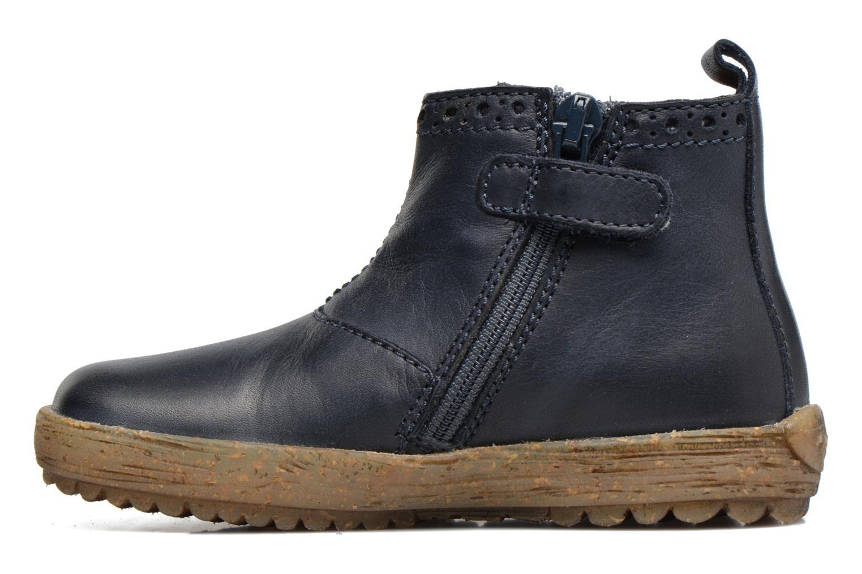 Boots en enkellaarsjes Naturino Storm Blauw voorkant
