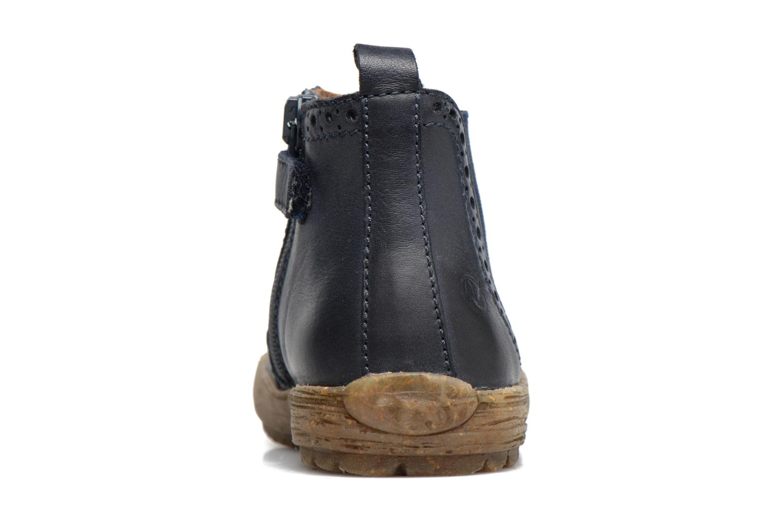 Boots en enkellaarsjes Naturino Storm Blauw rechts