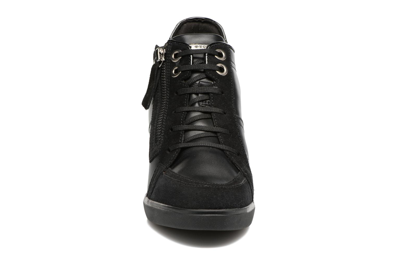 Baskets Geox D Eleni C D7467C Noir vue portées chaussures