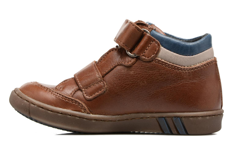 Sneakers Little Mary Cnickel Bruin voorkant