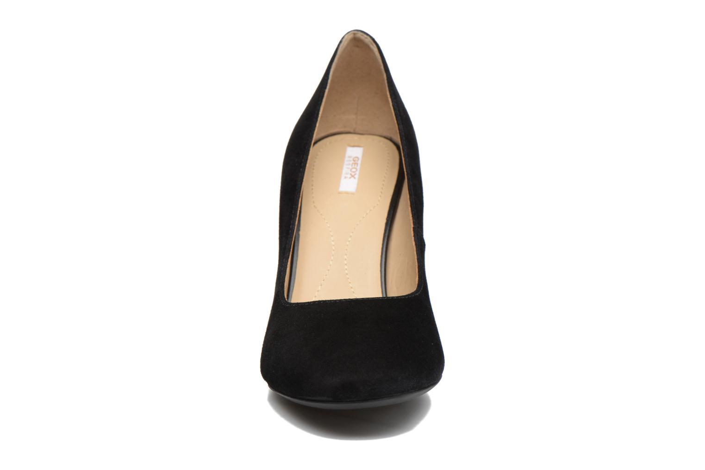 Escarpins Geox D Audalies H. A D723XA Noir vue portées chaussures