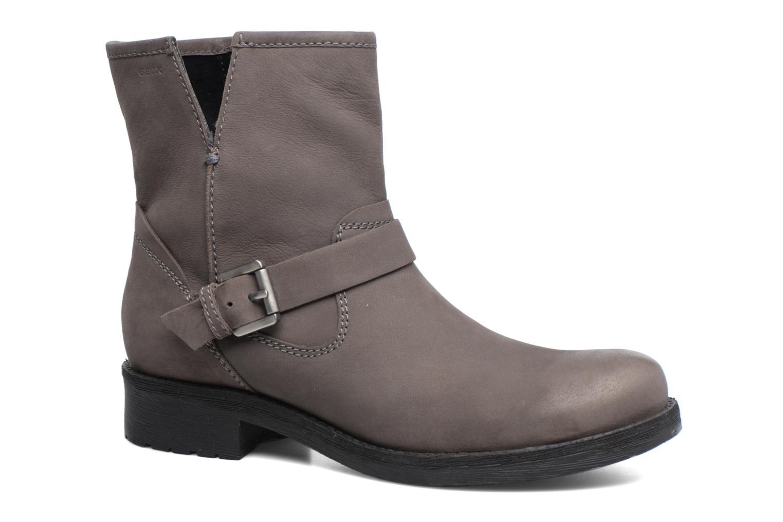 Geox D New Virna E D7451E (Gris) - Bottines et boots chez Sarenza (306280)
