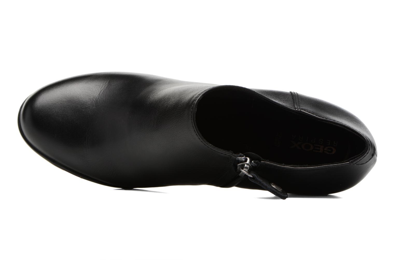 Bottines et boots Geox D Annya A D745FA Noir vue gauche