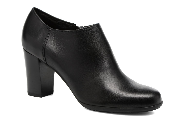 Bottines et boots Geox D Annya A D745FA Noir vue détail/paire