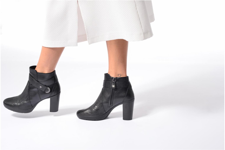 Bottines et boots Geox D Inspirat.Pl.A D746AA Noir vue bas / vue portée sac