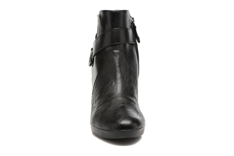 Bottines et boots Geox D Inspirat.Pl.A D746AA Noir vue portées chaussures