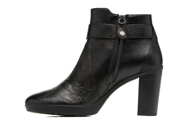 Bottines et boots Geox D Inspirat.Pl.A D746AA Noir vue face