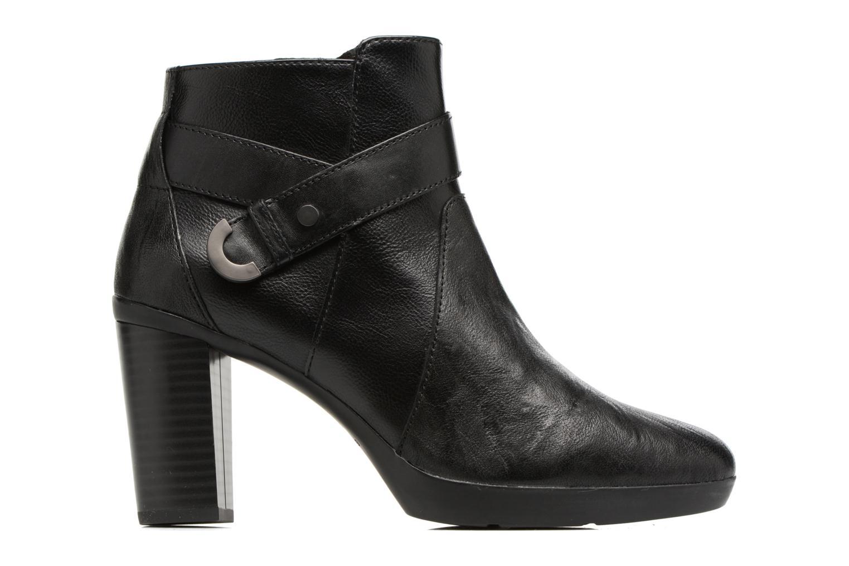 Bottines et boots Geox D Inspirat.Pl.A D746AA Noir vue derrière