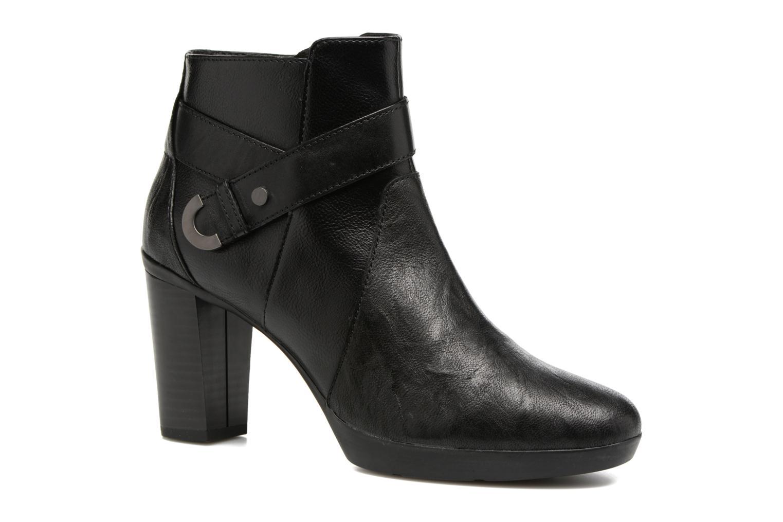 Bottines et boots Geox D Inspirat.Pl.A D746AA Noir vue détail/paire