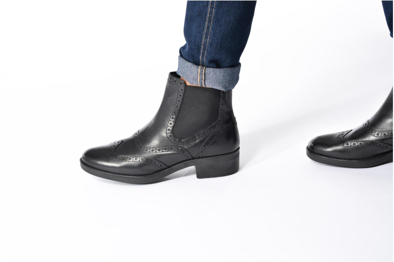 Boots en enkellaarsjes Geox D Ettiene B D746BB Zwart onder