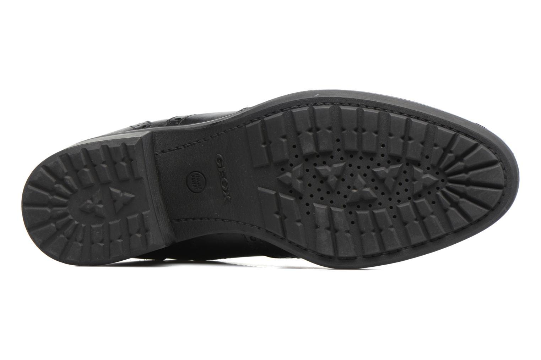 Boots en enkellaarsjes Geox D Ettiene B D746BB Zwart boven