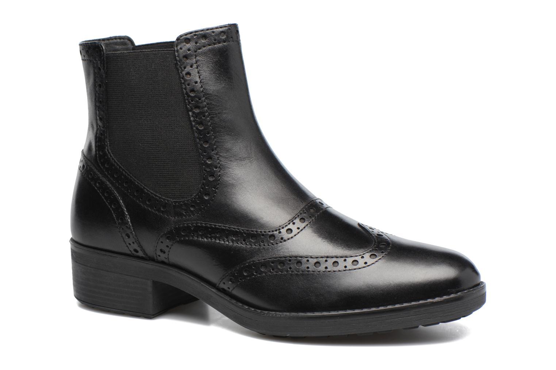 Boots en enkellaarsjes Geox D Ettiene B D746BB Zwart detail