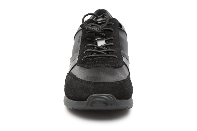 Baskets Geox D Deynna E D746FE Noir vue portées chaussures