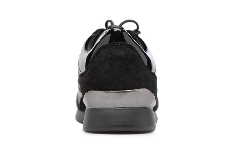 Baskets Geox D Deynna E D746FE Noir vue droite