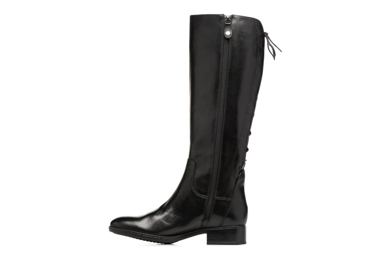 Stiefel Geox D Felicity A D74G1A schwarz ansicht von vorne