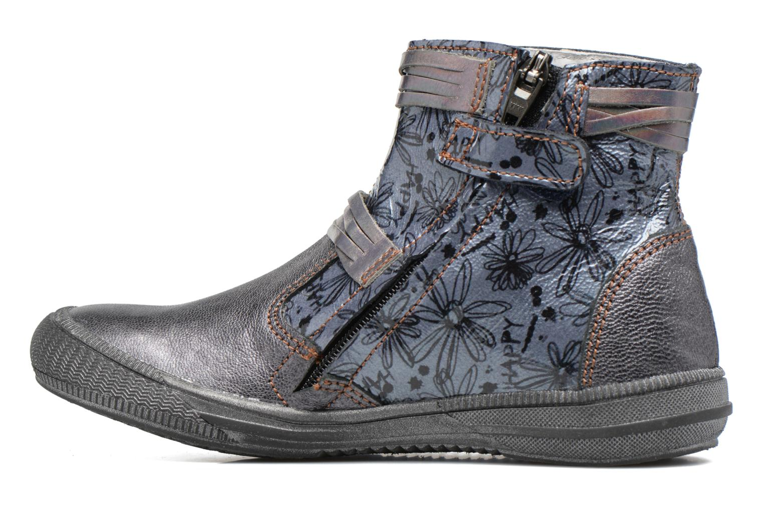 Ankle boots GBB Reva Grey front view