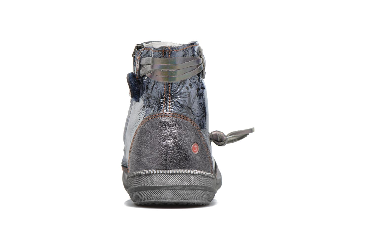 Ankle boots GBB Reva Grey view from the right