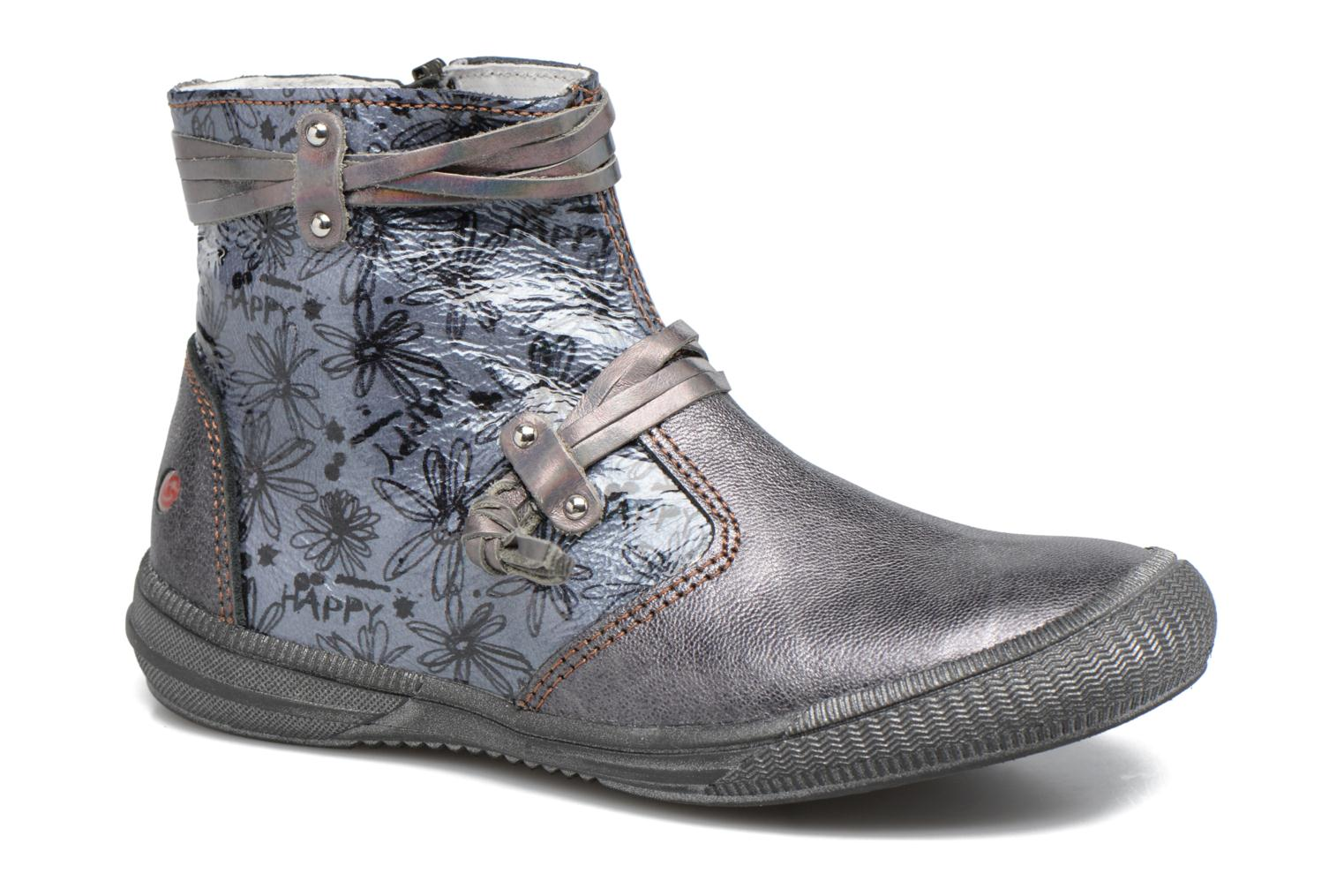 Ankle boots GBB Reva Grey detailed view/ Pair view