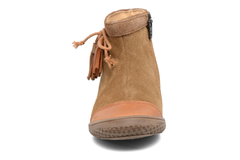 Bottines et boots Babybotte Ailodi Marron vue portées chaussures
