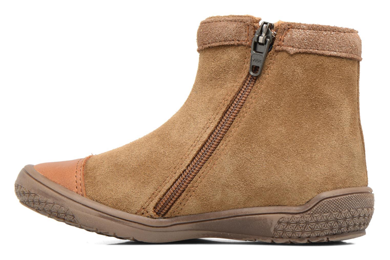 Bottines et boots Babybotte Ailodi Marron vue face