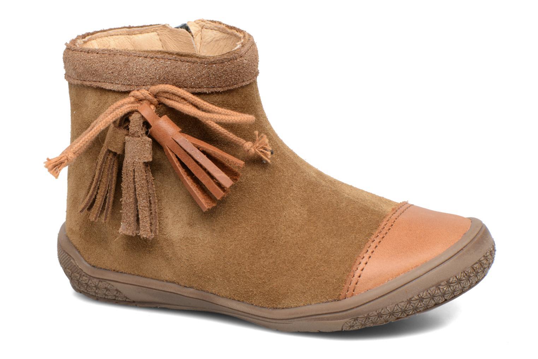 Bottines et boots Babybotte Ailodi Marron vue détail/paire