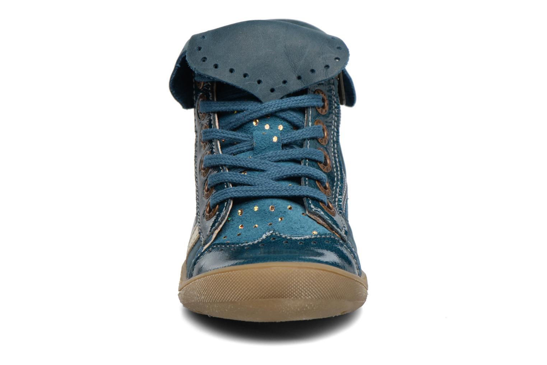 Bottines et boots Babybotte Actriss Bleu vue portées chaussures