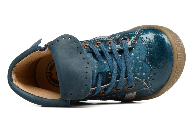 Bottines et boots Babybotte Actriss Bleu vue gauche