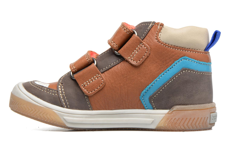 Sneakers Babybotte Atol Brun se forfra