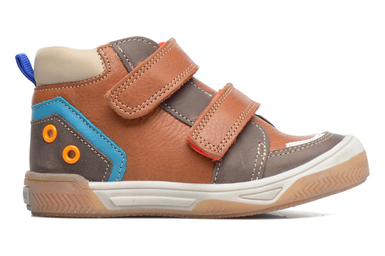 Sneakers Babybotte Atol Brun se bagfra
