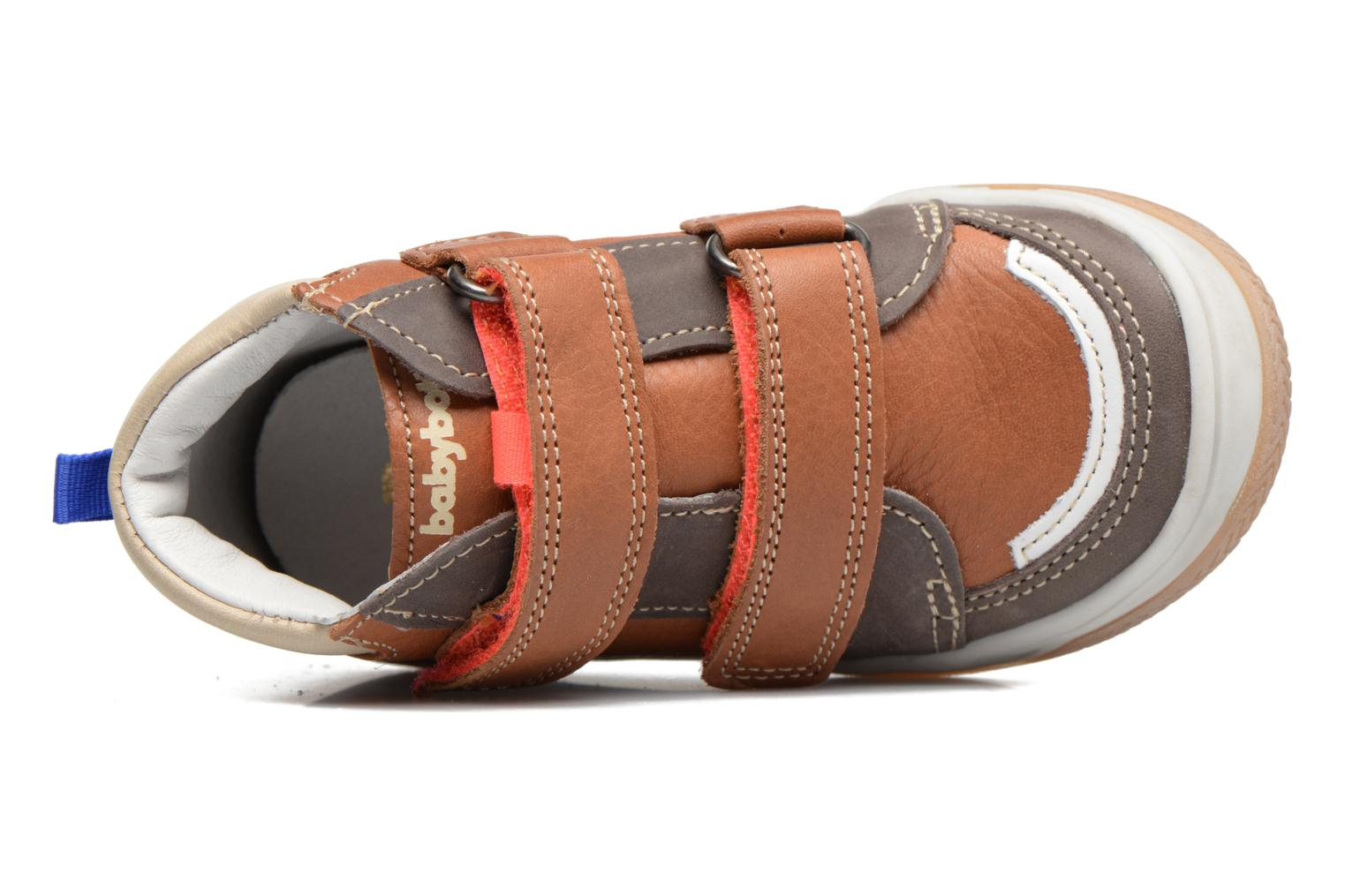 Sneakers Babybotte Atol Marrone immagine sinistra