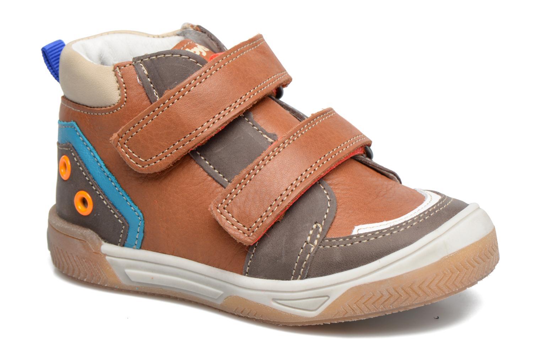 Sneakers Babybotte Atol Brun detaljeret billede af skoene