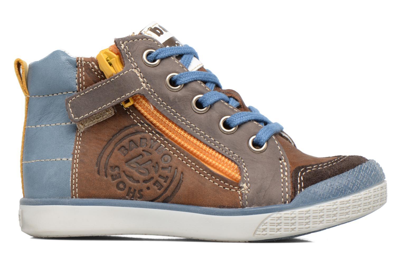 Sneakers Babybotte Akro Bruin achterkant