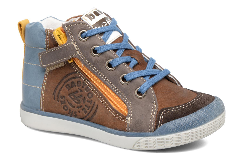Sneakers Babybotte Akro Brun detaljeret billede af skoene