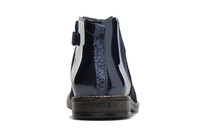 Bottines et boots Babybotte Nebuleuse Bleu vue droite