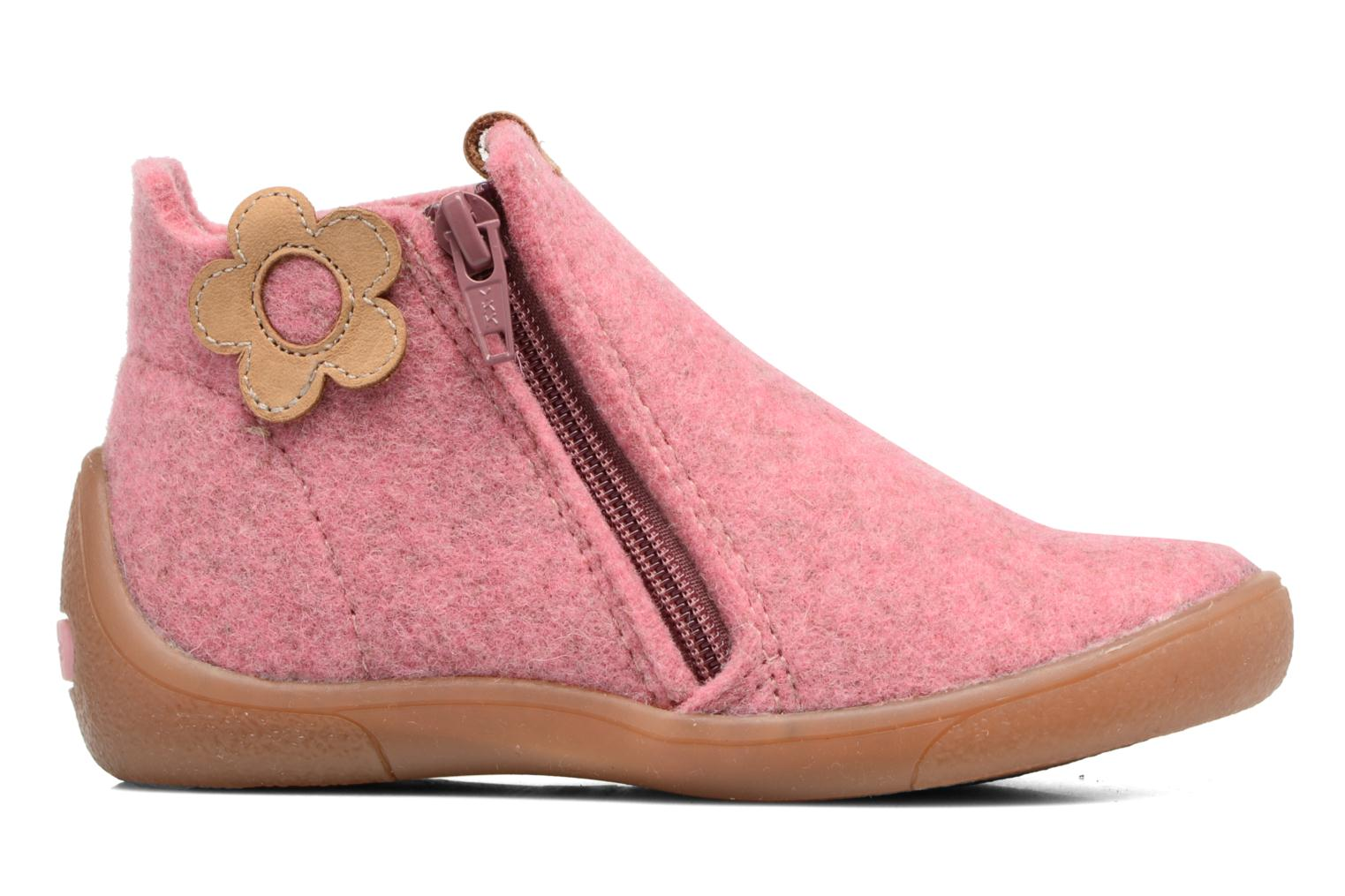 Slippers Babybotte Marguerite Pink back view