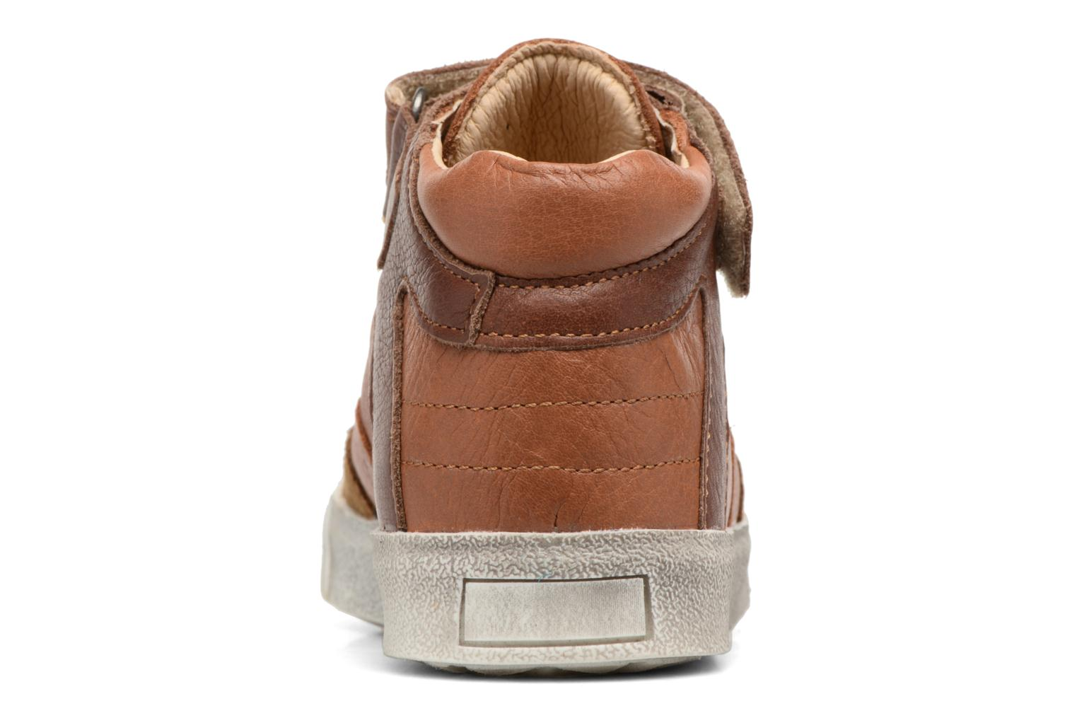 Trainers Babybotte Karamel Brown view from the right