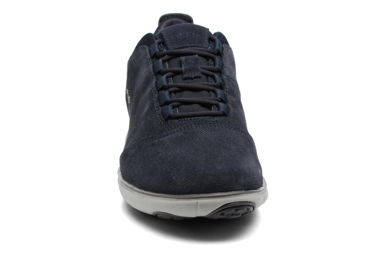 Baskets Geox U Nebula C U74D7C Bleu vue portées chaussures
